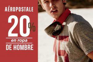 Aéropostale 20% de descuento en ropa para hombre al 17 de enero