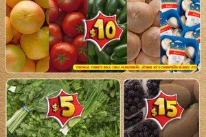 Bodega Aurrera frutas y verduras tiánguis de mamá lucha al 2 de febrero