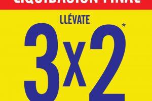 C&A rebajas al 3×2 por liquidación final del 27 de enero al 2 de febrero