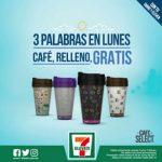 7-Eleven Café Select GRATIS al rellenar tu termo Todos los Lunes