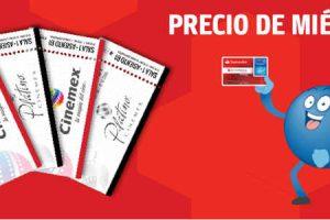 Boletos de Cinemex a precio de miércoles con Santander PAYBACK