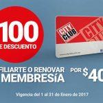 City Club $100 de descuento al afiliarte o renovar tu membresia
