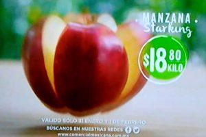 Frutas y Verduras Comercial Mexicana y Mega 31 de enero y 1 de febrero