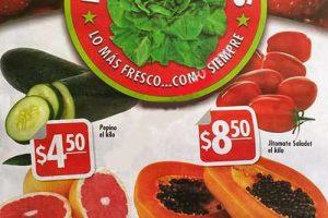 Comercial Mexicana hoy es miércoles de frutas y verduras 4 de enero