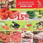 Folleto Frutas y Verduras Soriana Mercado y Express al 5 de Enero 2017