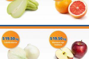 Ofertas de Frutas y verduras Chedraui 3 y 4 de enero 2017