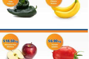 Frutas y Verduras Chedraui 31 de Enero y 1 de febrero de 2017