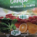 Frutas y Verduras Comercial Mexicana y Mega 10 y 11 de Enero 2017