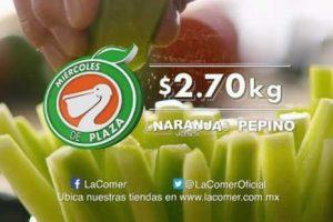 Frutas y Verduras Miércoles de Plaza La Comer y Fresko 11 de Enero