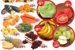 HEB folleto de frutas y verduras del 17 al 19 de enero 2017