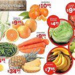 HEB folleto de frutas y verduras del 10 al 12 de enero 2017