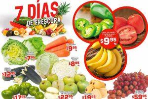 Frutas y verduras HEB del 24 al 26 de enero
