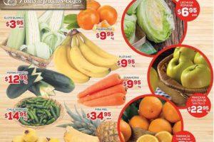 HEB Folleto de Frutas y Verduras del 3 al 5 de Enero 2017