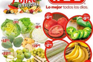 HEB folleto de frutas y verduras del 31 de Enero al 2 de Febrero