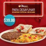 Martes de McDonald's cupón desayuno Especial Mexicano a $39
