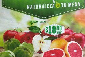 Frutas y Verduras Comercial Mexicana y Mega 17 y 18 de Enero 2017