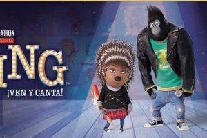 McDonald's Nueva Cajita Feliz de Película Sing