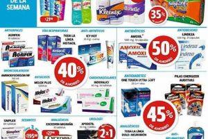 Ofertas Farmacias Guadalajara del 30 de enero al 2 de febrero
