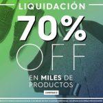 ösom Liquidación de 70% de descuento en toda la tienda