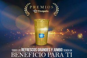 Promoción Sorpresas Cinépolis Todos los Refrescos Tienen Premios