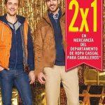 Rebajas Sears 2×1 en ropa casual para caballeros