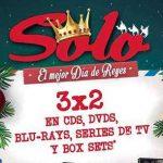 Sanborns 3×2 en películas, series de TV y CDs de música