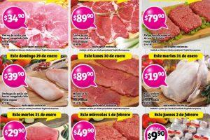 Soriana ofertas de carnes, frutas y tarjeta recompensas del 27 al 30 de enero