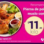 Soriana Ofertas Tarjeta Recompensas del 10 al 12 de Enero