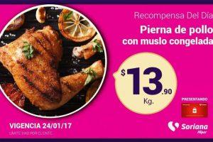 Soriana ofertas tarjeta recompensas del 24 al 26 de enero 2017