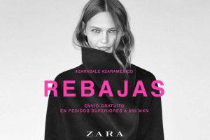 Zara Rebajas de fin de temporada Hasta 50% de descuento