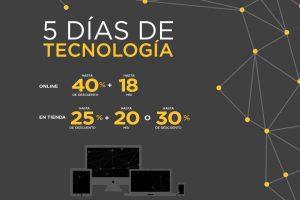 5 Días de Tecnología en El Palacio de Hierro del 23 al 27 de Febrero