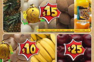 Frutas y verduras Bodega Aurrerá del 17 al 23 de Febrero 2017