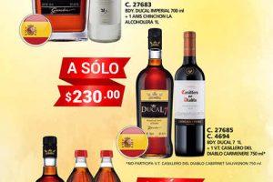 Bodegas Alianza ofertas de vinos y licores del 21 al 28 de febrero