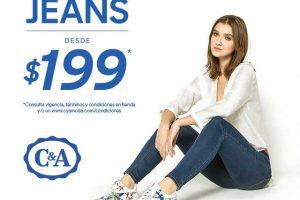 C&A venta especial de jeans desde $199 pesos
