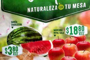 Frutas y verduras Comercial Mexicana 13 y 14 de febrero 2017