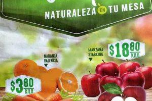 Frutas y verduras Comercial Mexicana Febrero 2017
