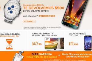 Días Naranjas Linio Hasta 45% de Descuento y MSI con BBVa Bancomer