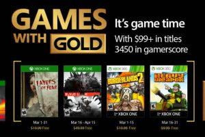 games-with-Games With Gold de Marzo para Xbox One y Xbox 360gold-marzo-xbox-one-xbox-360