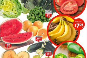 Frutas y verduras HEB del 14 al 16 de Febrero 2017