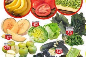 Frutas y verduras HEB del 28 de Febrero al 1 de Marzo
