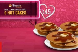Martes de McDonald's 9 Hot Cakes por $45