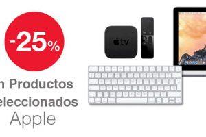 Office Max 25% descuento en Apple Imac, Ipad, Macbook, Apple Tv y más