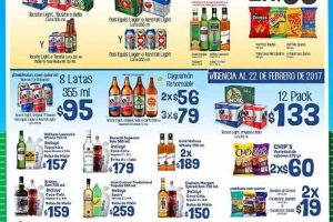Oxxo ofertas del Super Bowl en cervezas, licores y botanas del 2 al 5 de febrero