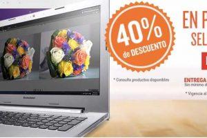 RadioShack 40% de descuento en productos seleccionados lenovo