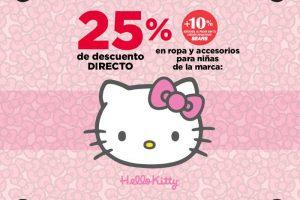 Sears 25% de descuento en ropa y accesorios Hello Kitty