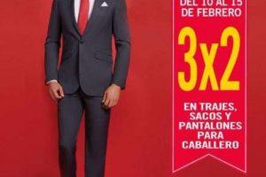 3×2 en trajes, sacos y pantalones para hombre y marca Polo Club en Sears