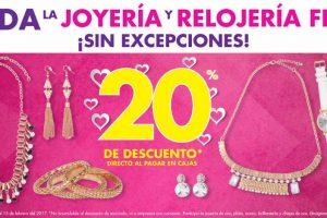 Promociones San Valentín en Suburbia. en Joyería y Relojería