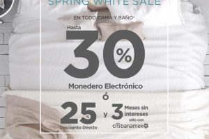The Home Store 25% de descuento + 3 msi con Banamex en Cama y Baño
