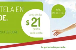 Vivaaerobus vuelos sencillos a $21 + impuestos del 20 al 26 de febrero