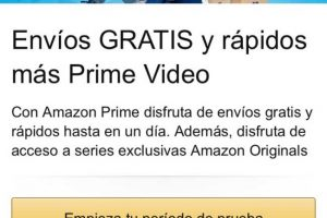 Amazon Prime ya disponible en México